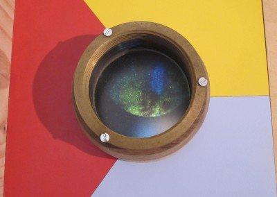 Viewing lens of Magic Lantern